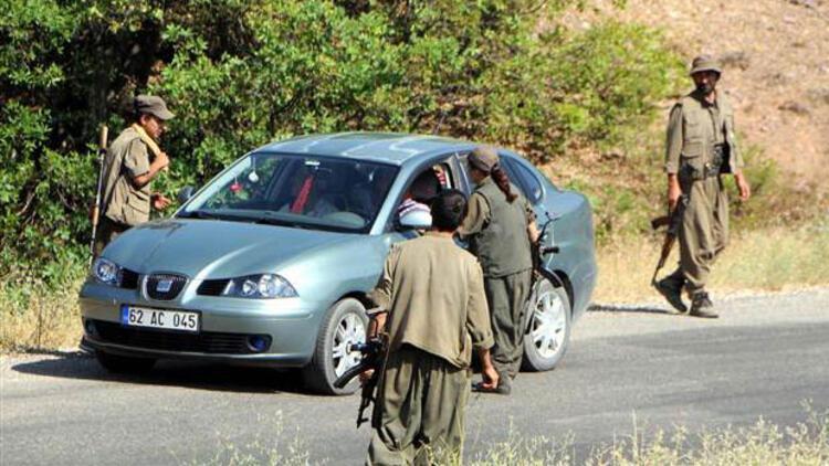 Tunceli'de PKK ve TİKKO, ortak eylemle yol kesti