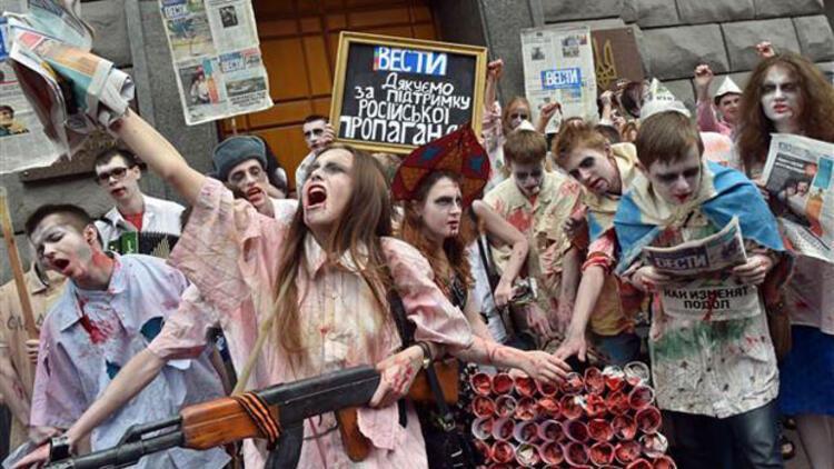 Ukraynada istihbarat teşkilatına zombi baskını