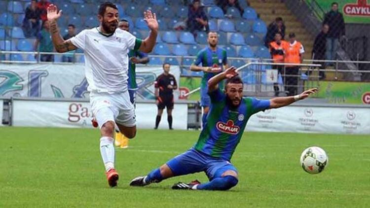 Çaykur Rizespor 0 - 1 Bursaspor