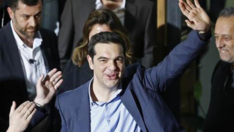 Yunanistanın yeni Başbakanı Çipras Geziye destek vermişti