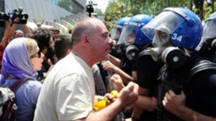 Polis GEZİ'de müdahale etti
