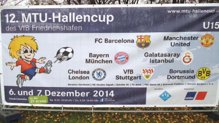 U 15 Genç takımı Friedrichshafen'e geliyor