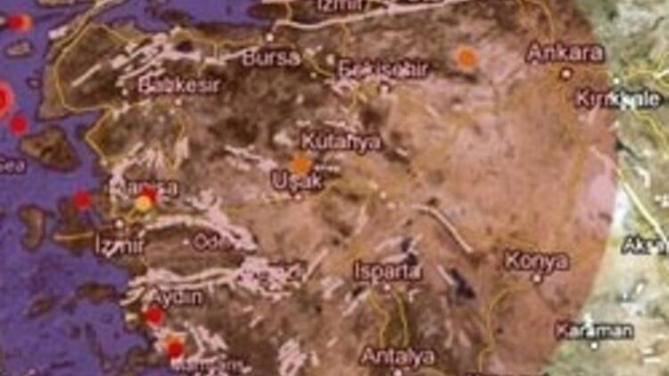 Ege'de şiddetli deprem