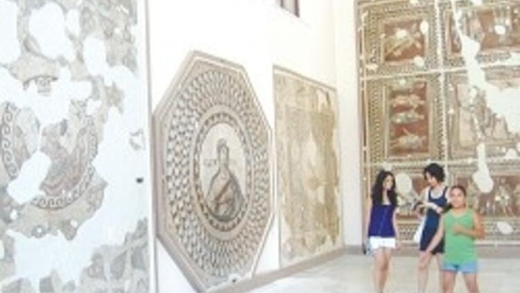 Dünyanın ikinci büyük mozaik müzesi yenilendi