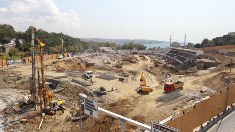 Beşiktaş'tan yeni stadyum için 'işçilik' ihalesi