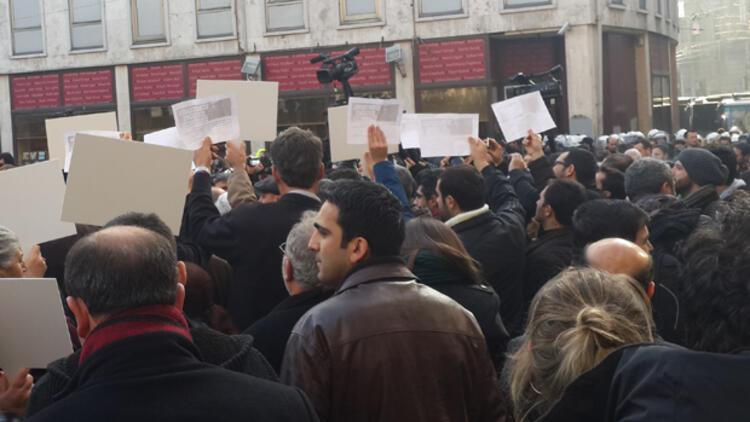 İstiklal'de 'Bünyamin' eylemi