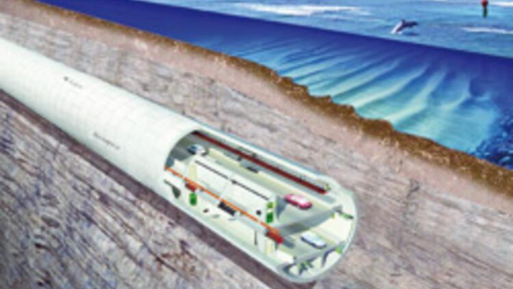 Çift katlı Avrasya Tüneli'nde kazı işlemi devam ediyor