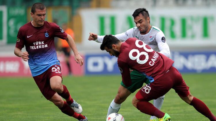 Trabzonspor geriye düştü ama pes etmedi...