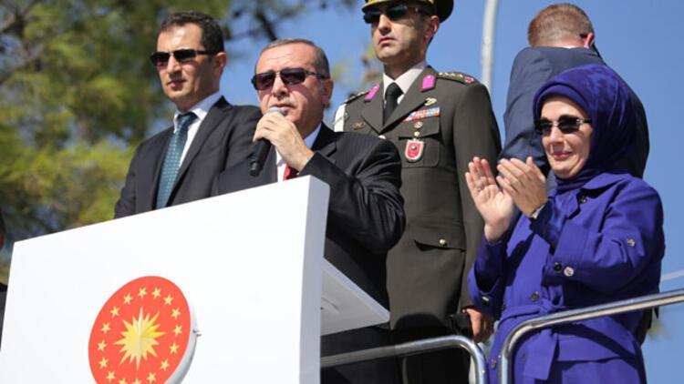 Erdoğan Suriyeli sığınmacılara seslendi