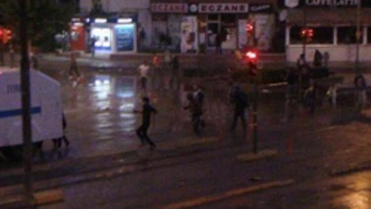 Eskişehir'de sabaha kadar süren Gezi eylemi