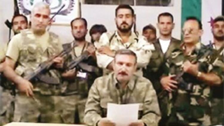 Özgür Suriye Ordusu Türkiye'den taşındı