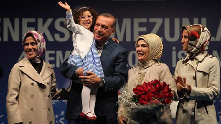 Erdoğan Ailesi'nin mutlu günü