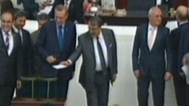 Cemil Çiçek ikinci kez Meclis Başkanı seçildi