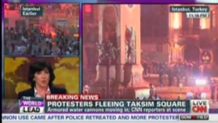 Amanpour, AK Partili Kalın'ı yayından çıkardı