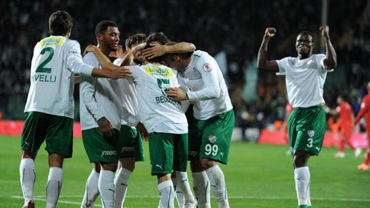 Bursaspor gol oldu yağdı