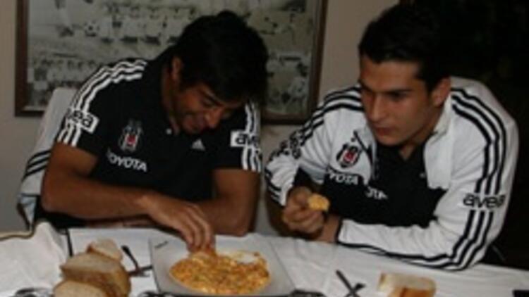 Beşiktaş'ın menemen keyfi