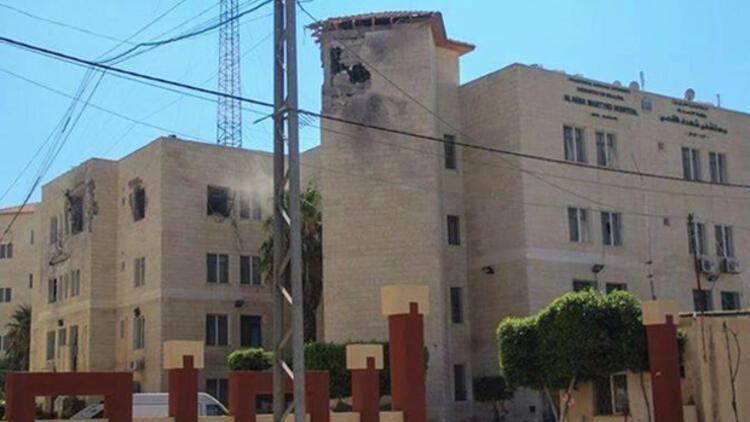 İsrail, Gazze'de hastane vurdu