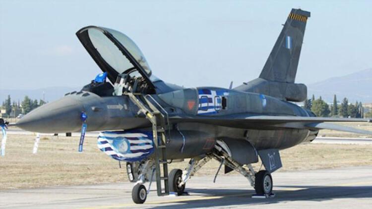 Şehir efsanesinin böylesi: Yunan pilot F-16sıyla Türkiyeye gelip para çekmiş
