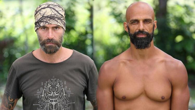Survivor All Star izle Hasan ile Bozok birbirine girdi, Turabi zor ayırdı!