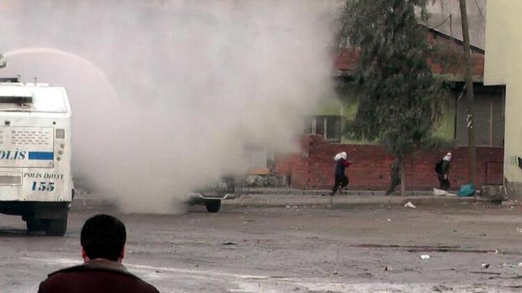 Silopi'de Kobani protestosunda olay