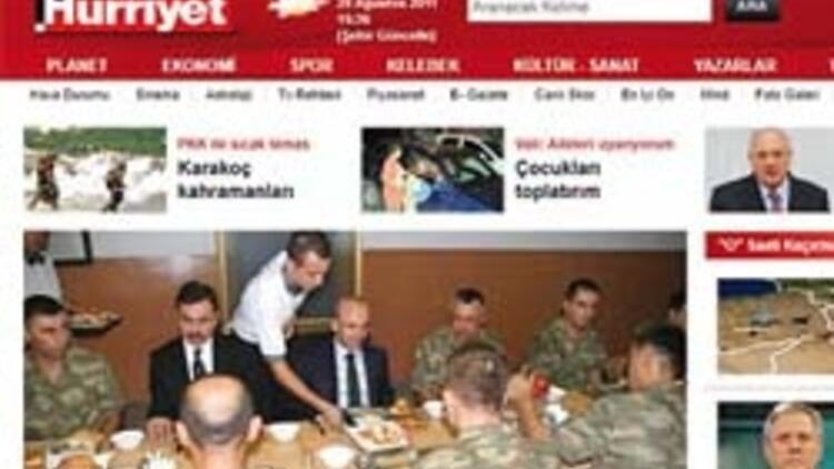 hurriyet.com.tr 9.5 milyon ziyaretçi çekti, Avrupa'da 4'üncü haber portalı oldu