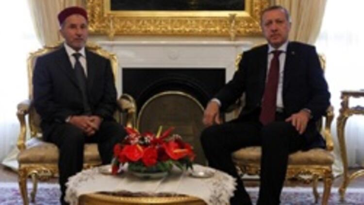 Libyalı muhalif lider Ankara'da