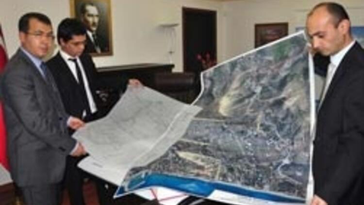 Datça'nın haritasını İHA'lar çıkarttı