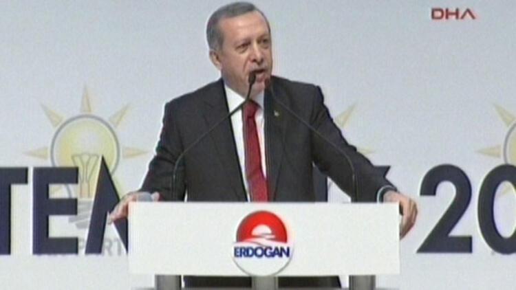 AK Parti'nin cumhurbaşkanı adayı Recep Tayyip Erdoğan