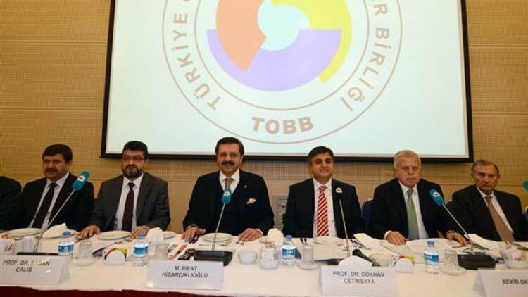 TOBB Başkanı Hisarcıklıoğlu: Kamu, vakıf üniversitelerini devlete rakip görmemeli