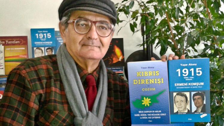 Yaşar Aksoy'dan 'barışçı' iki kitap