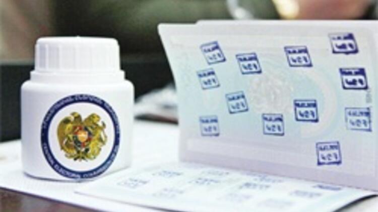 Sarkisyan'ın zaferine mürekkep lekesi