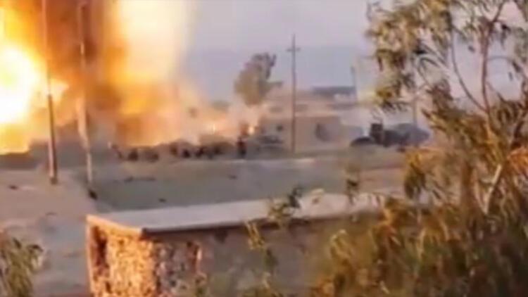 İşte Mehmetçik'in IŞİD hedeflerini vurduğu anlar