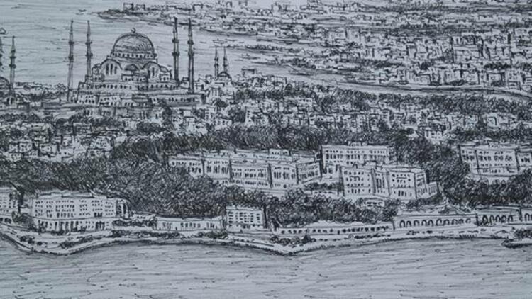 'Dahi Bellek' İstanbul'u çizdi