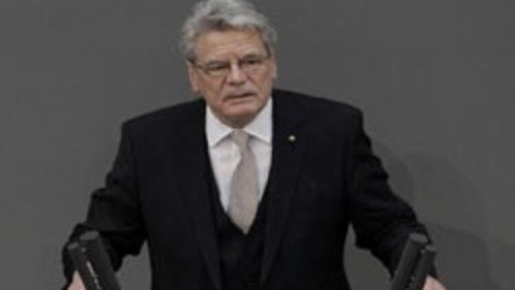 Gauck, Almanya'nın resmen Cumhurbaşkanı oldu