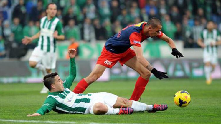 Bursaspor: 2 - Mersin İdmanyurdu: 1