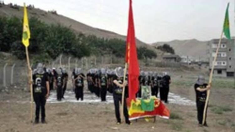 Cizre'de PKK'dan sözde asayiş birimi
