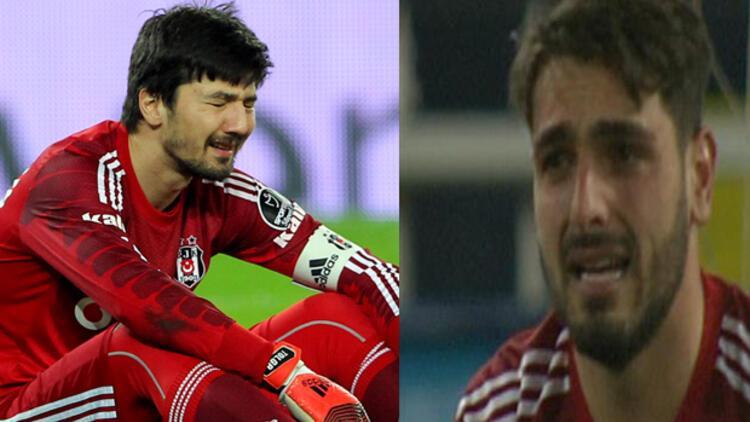 Beşiktaş'ın iki kalecisi de ağladı