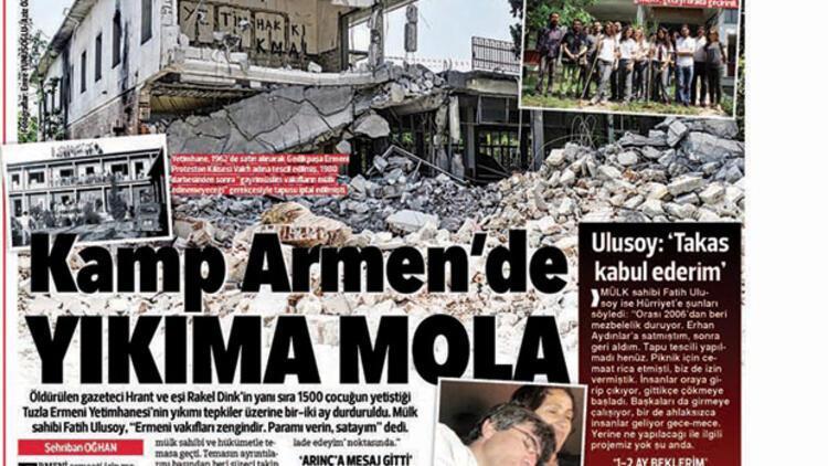 'Tuzla'da Ermeni cemaati haklı ama çözüm zor'