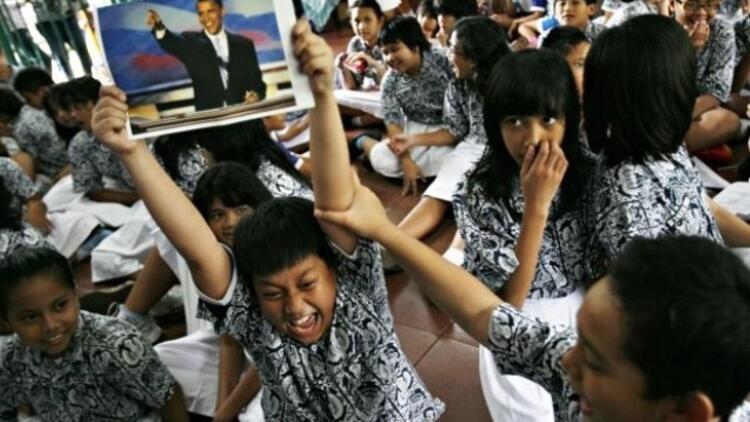 Photo Ed: The U.S. elections-- World cheers Obama's victory