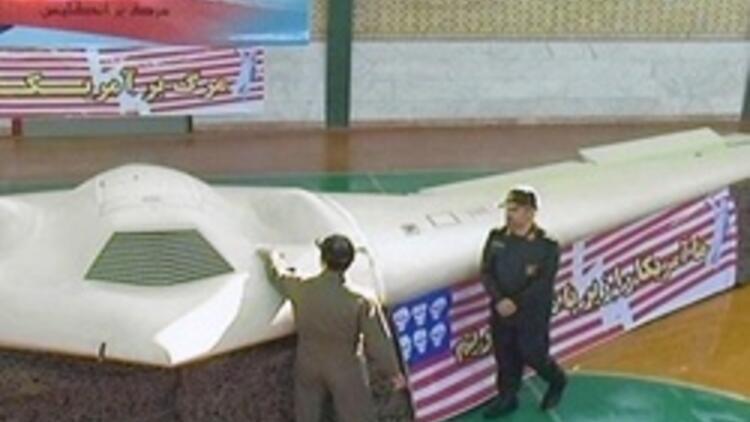 İran ABD'nin sır uçağının görüntülerini yayınladı