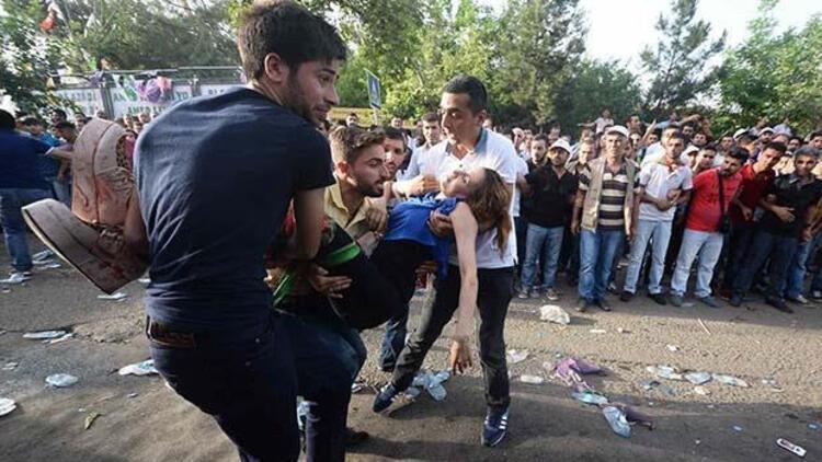HDP Diyarbakır mitingine bomba