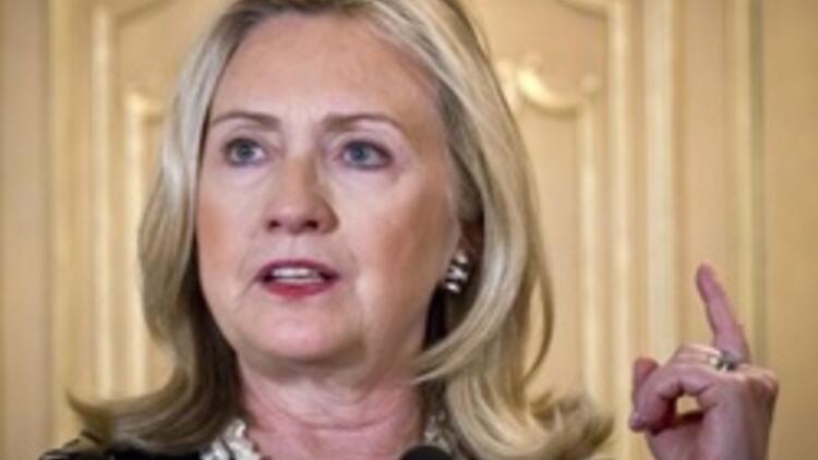 """Clinton'dan """"sınır ötesi"""" yorumu"""