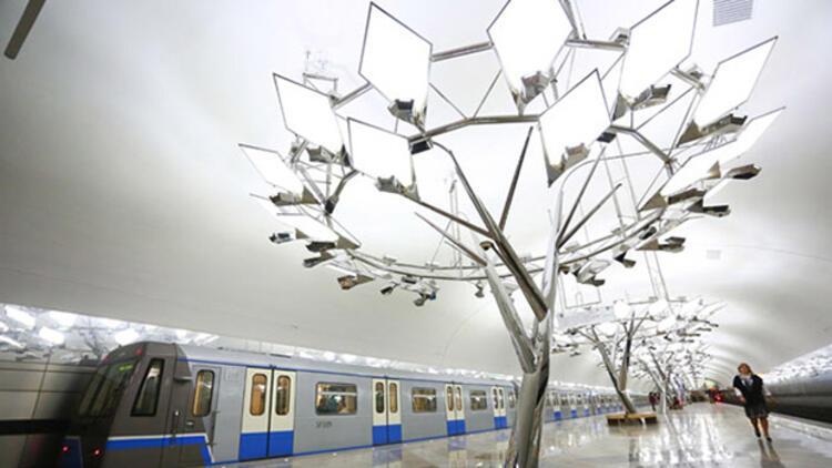 Moskova metrosunun 196'ncı istasyonu açıldı