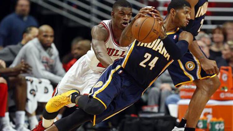 Chicago Bulls Indiana Pacers'a 'dur' dedi