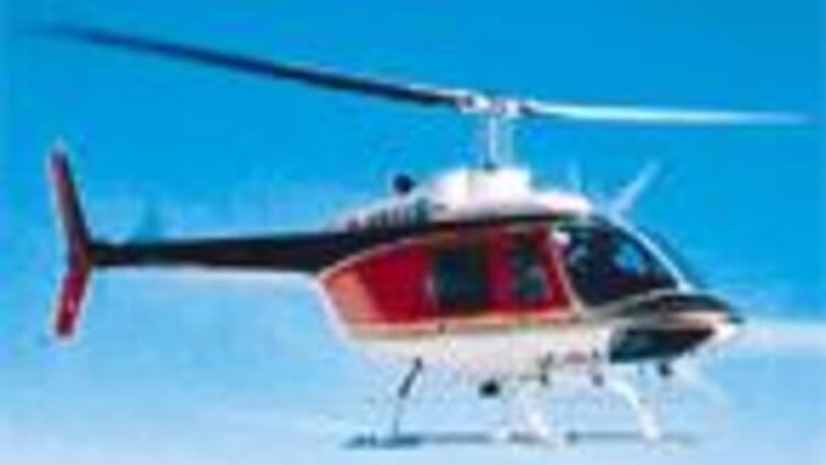 Helikopterle üçlü firar