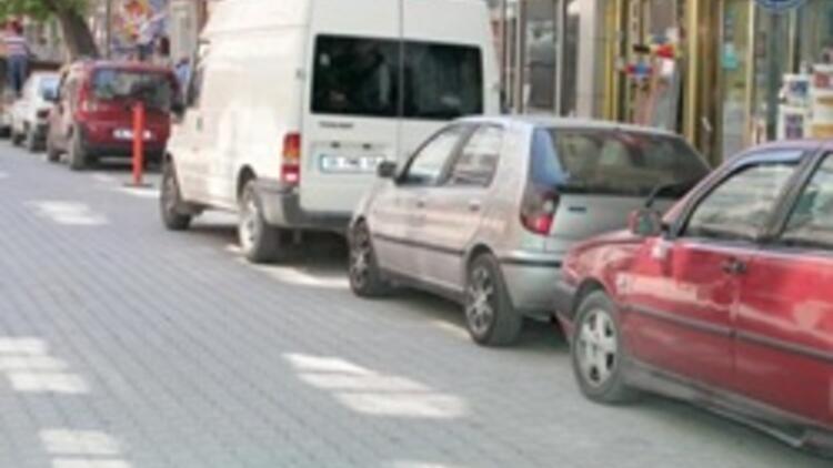 Caddelerdeki ücretli otoparka mahkeme engeli
