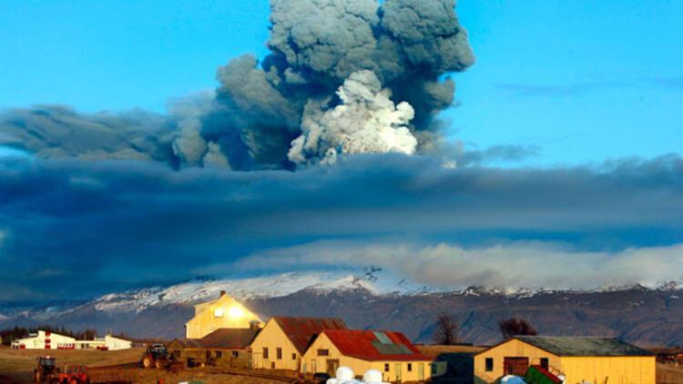 Büyük bir yanardağ patlaması insanlığın sonunu getirebilir