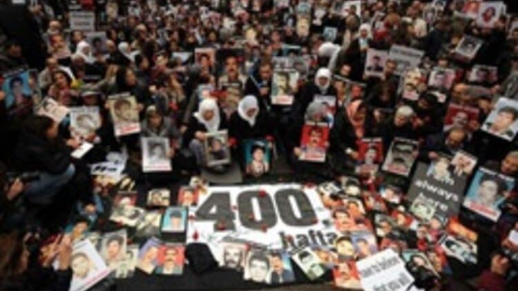 Cumartesi Anneleri'nin 400'üncü eylemi