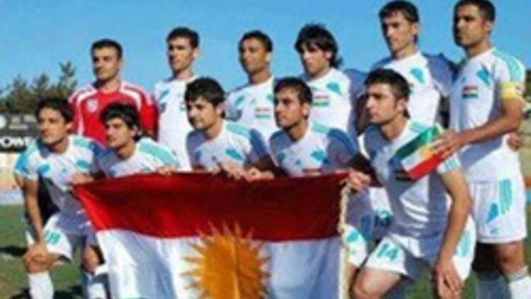 KKTC'ye spor ambargosu sürerken, Kürdistan FIFA şampiyonasında yarı finalde