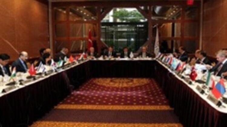 Davutoğlunun başkanlığındaki toplantıya İsrail de katıldı